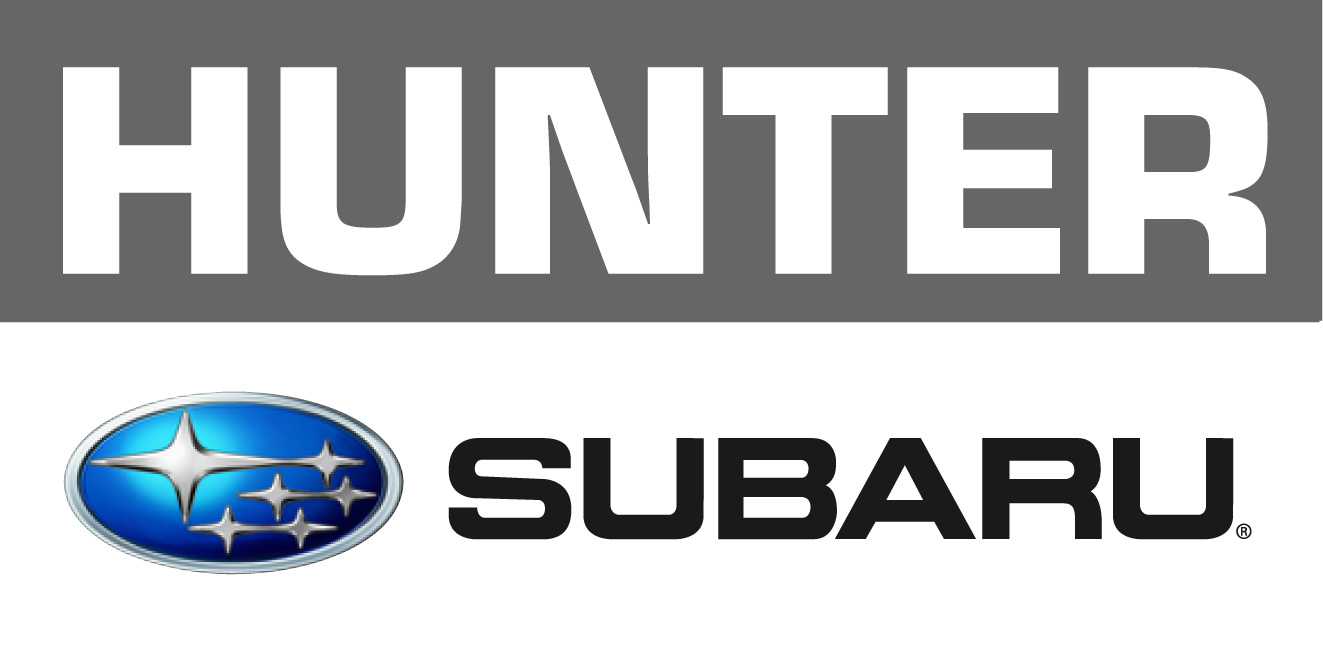 2017 Hunter Subaru Stacked logo