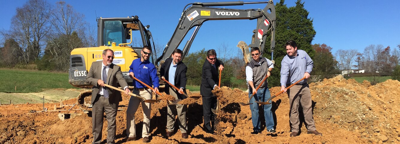 Breaking New Ground in Henderson County.